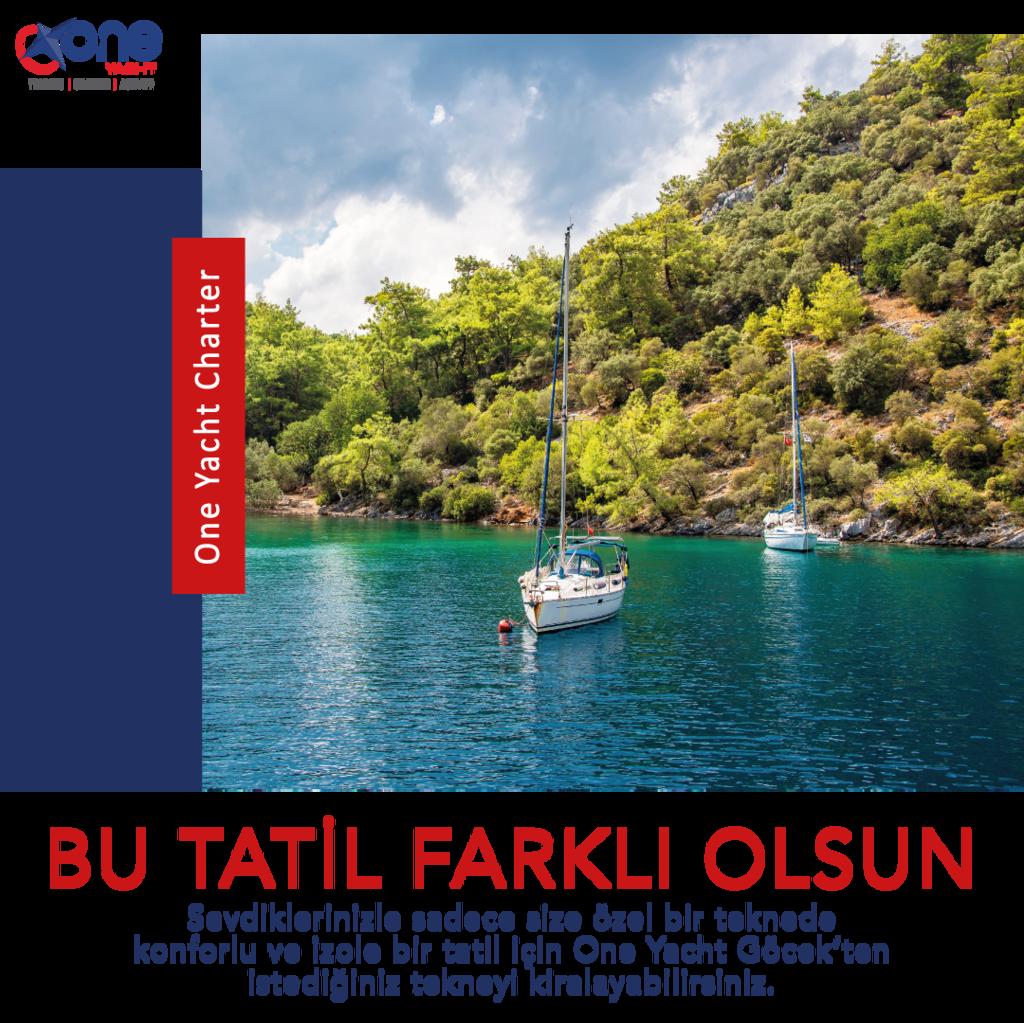 Tekne Tatiliniz One Yacht'tan!