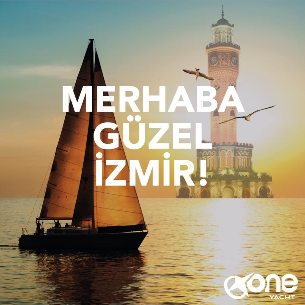 One Yacht Şimdi İzmir'de!